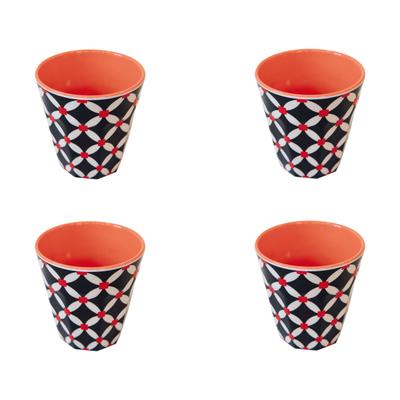 Cup Melamin Becher 4er-Set