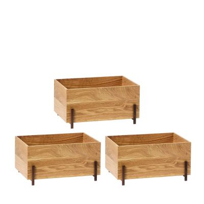 Stack Storage Box 3er-Set