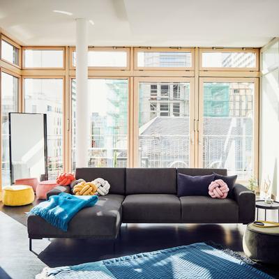Lihme 2,5 Sitzer Sofa mit Longchair links