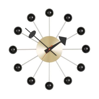 Ball Clock Wanduhr Messing