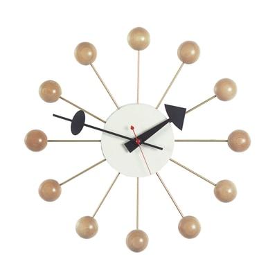 Ball Clock Wanduhr Buche