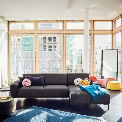 Lihme 2,5 Sitzer Sofa mit Longchair rechts
