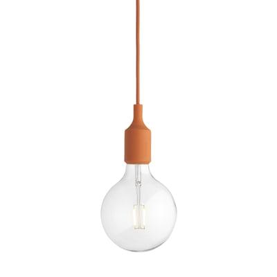 E 27 Lampe als Pendelleuchte