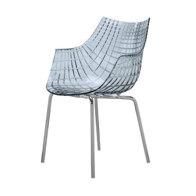 Meridiana Stuhl mit 4 Beinen
