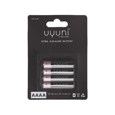 Stoff Mini Batterie AAAA 4er-Set