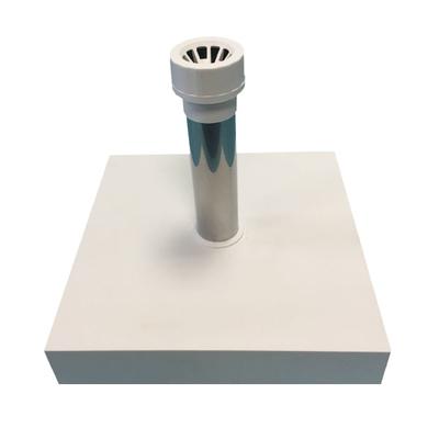 Beton-Schirmständer mit Kunststoffhülle