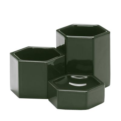 Hexagonal Containers Schale 3er-Set
