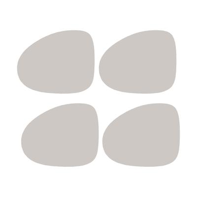 PlaceMat Linen organic Glasuntersetzer 4er-Set