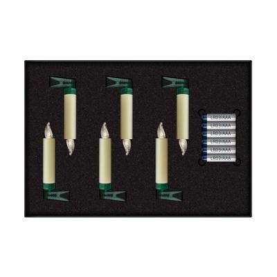 Lumix SuperLight Mini Kabellose Christbaumkerzen 6er Erweiterungs-Set