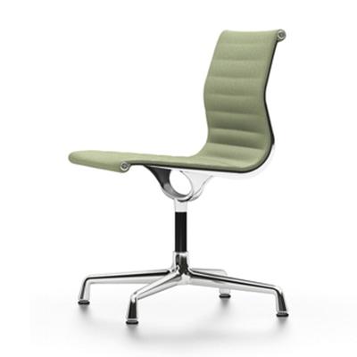 Aluminium Group EA 101 Stuhl mit Kunststoffgleitern