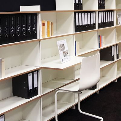 Tojo-mehrfach Regalsystem Schreibtisch