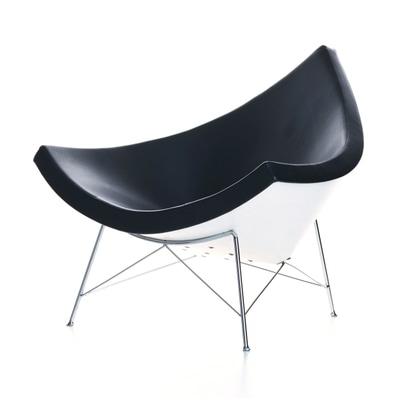 Coconut Chair Stoff mit Filzgleitern