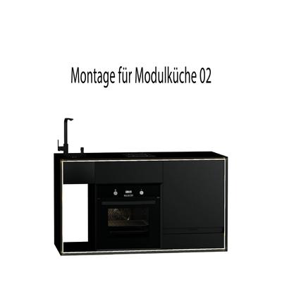 Montageservice für Masterbox Modulküche 02