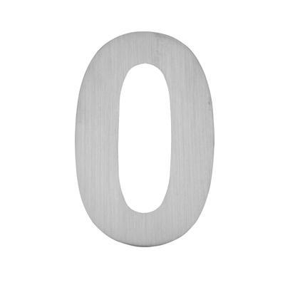 Hausnummer zum Aufkleben 0