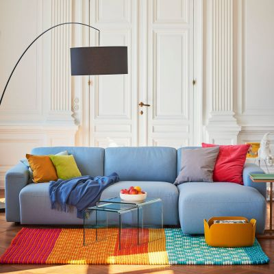 Clifden 3-Sitzer Sofa mit Longchair rechts