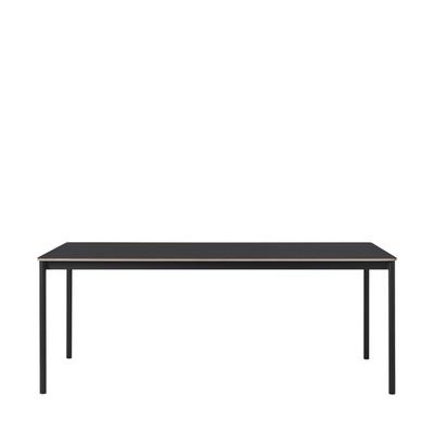 Base Tisch mit Holzkante