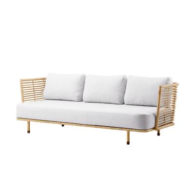 Sense Rattan 3-Sitzer Sofa