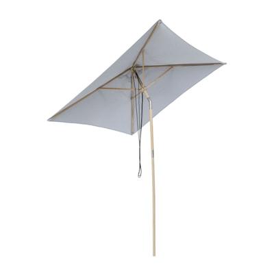 Landhausschirm quadratisch mit Knickgelenk ohne Schirmständer