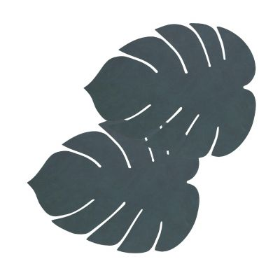 TableMat monstera leaf Tischset 2er-Set