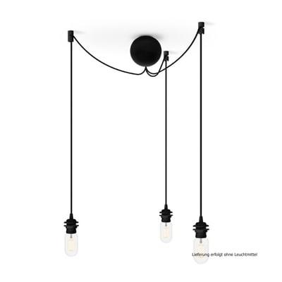 Cannonball Cluster 3er Lampenfassung-Set