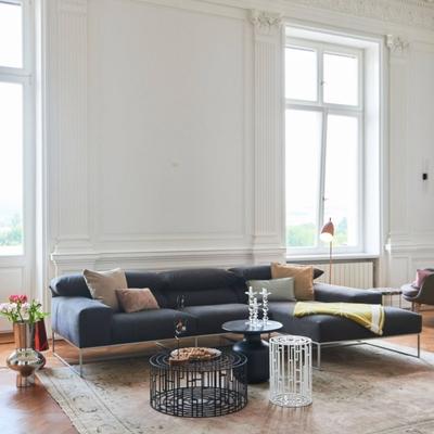 Trabia 2-Sitzer Sofa mit Longchair rechts