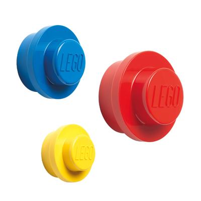 LEGO® Garderobenhaken 3er-Set