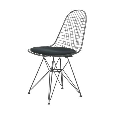 Wire Chair Stuhl DKR-5 mit Sitzkissen