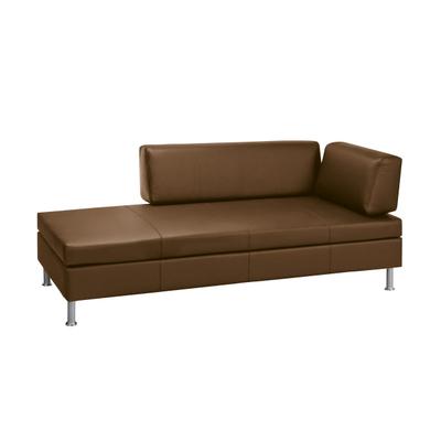 BED for LIVING Bettsofa Doppio Leder