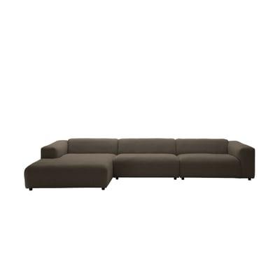freistil 187 Sofa 2,5-Sitzer mit Longchair links