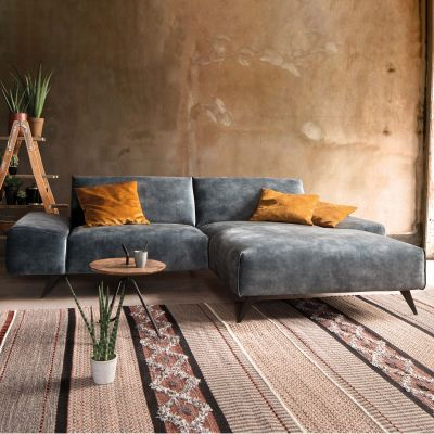 Glasgow 1,5 Sitzer Sofa mit Longchair rechts