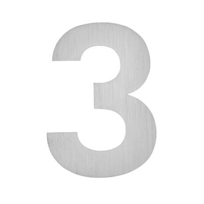 Hausnummer zum Aufkleben 3
