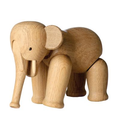 Elefant Holzfigur