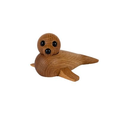 Baby Seal Holzfigur