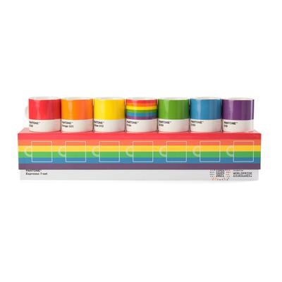 Pantone Pride Espressotasse 7er-Set