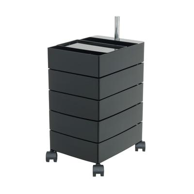 360° Container mit 5 Schüben