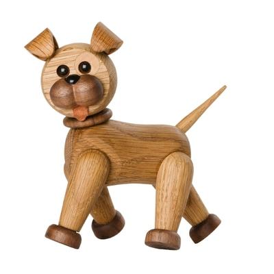 Happy Dog Holzfigur