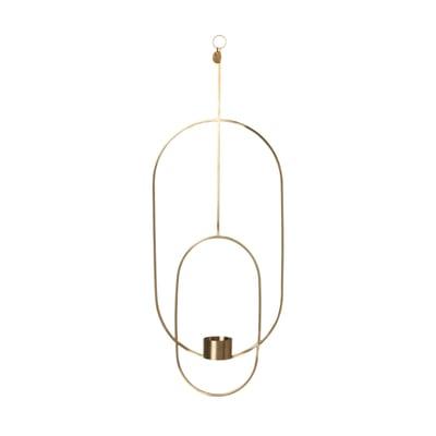 Hanging Oval Teelichthalter