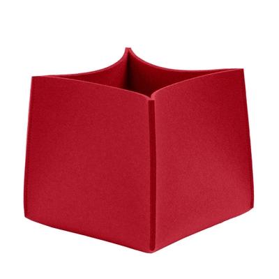 Wollfilz Box Quadrat Aufbewahrungsbox