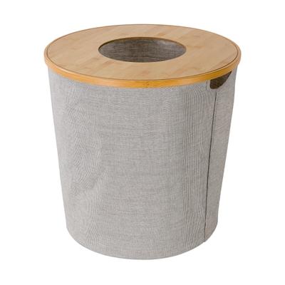 möve Bamboo Wäschekorb rund
