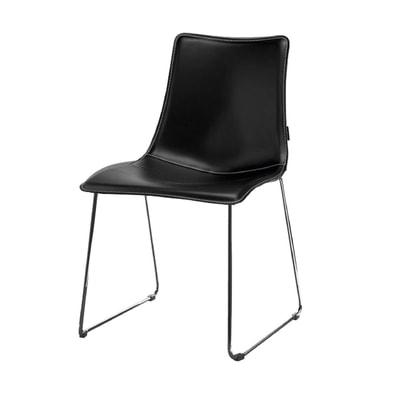 Zebra Pop Stuhl mit Kufen
