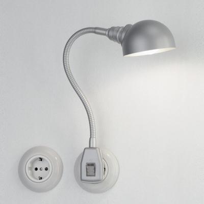 Glühwürmchen Metallikus LED Halbkugel-Reflektor