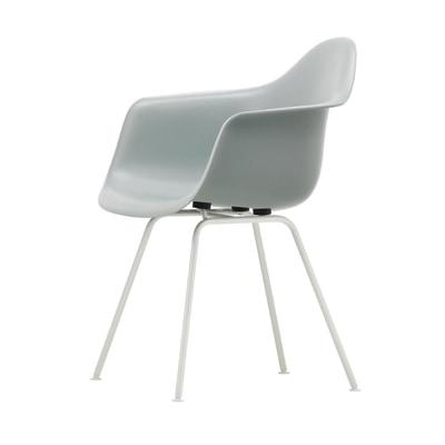 Eames Plastic Armchair Stuhl DAX Gestell weiß mit Filzgleitern