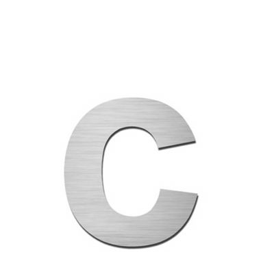 Hausnummer Index zum Aufschrauben c
