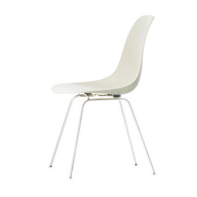 Eames Plastic Side Chair Stuhl DSX Gestell weiß mit Filzgleitern