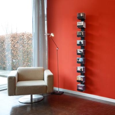 CD- und DVD-Baum Wand 2 Regal