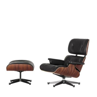 Lounge Chair & Ottoman in klassischen Maßen