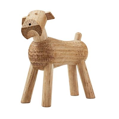 Tim Hund Holzfigur
