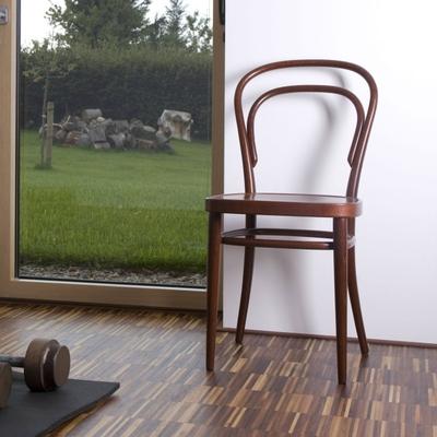 214 M Stuhl mit Muldensitz