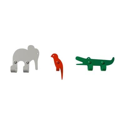 Zoo Jungle Garderobenhaken 3er-Set