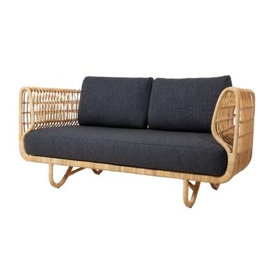Nest Rattan 2-Sitzer Sofa